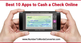 how to cash a check online best third party check cashing app